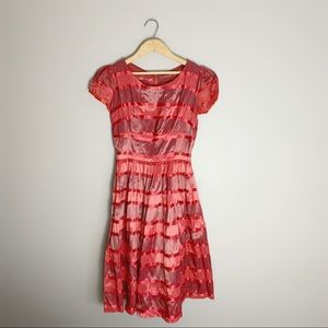 1950s Vintage ribbon dress.